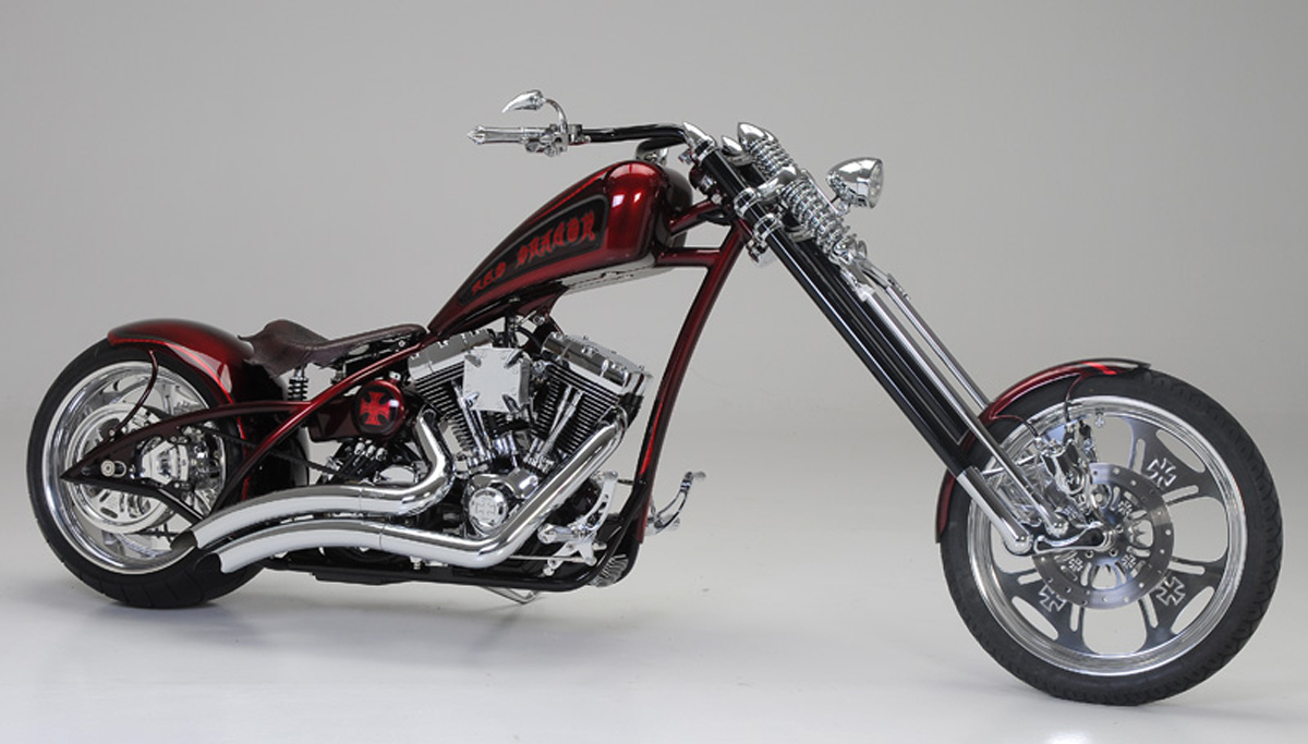 Red Dragon - Custom Bike