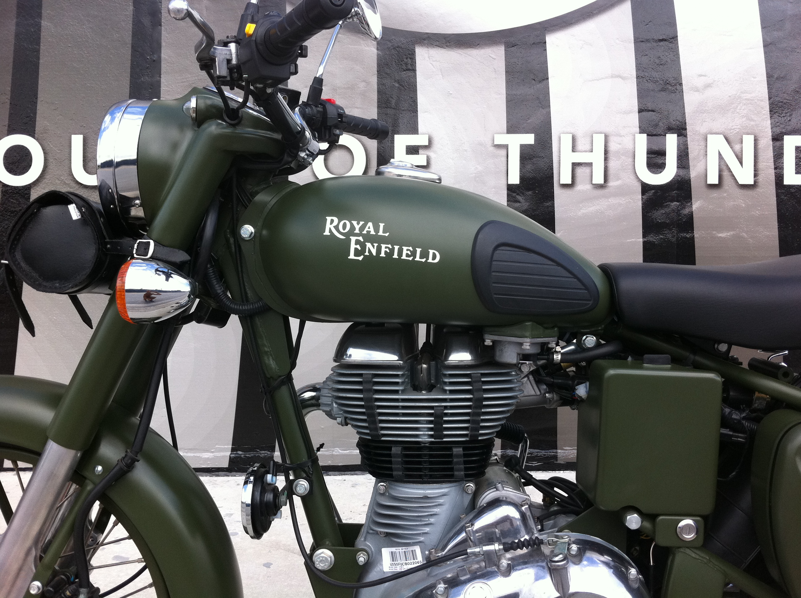 Royal Enfield C5 Military Battle Green House Of Thunder