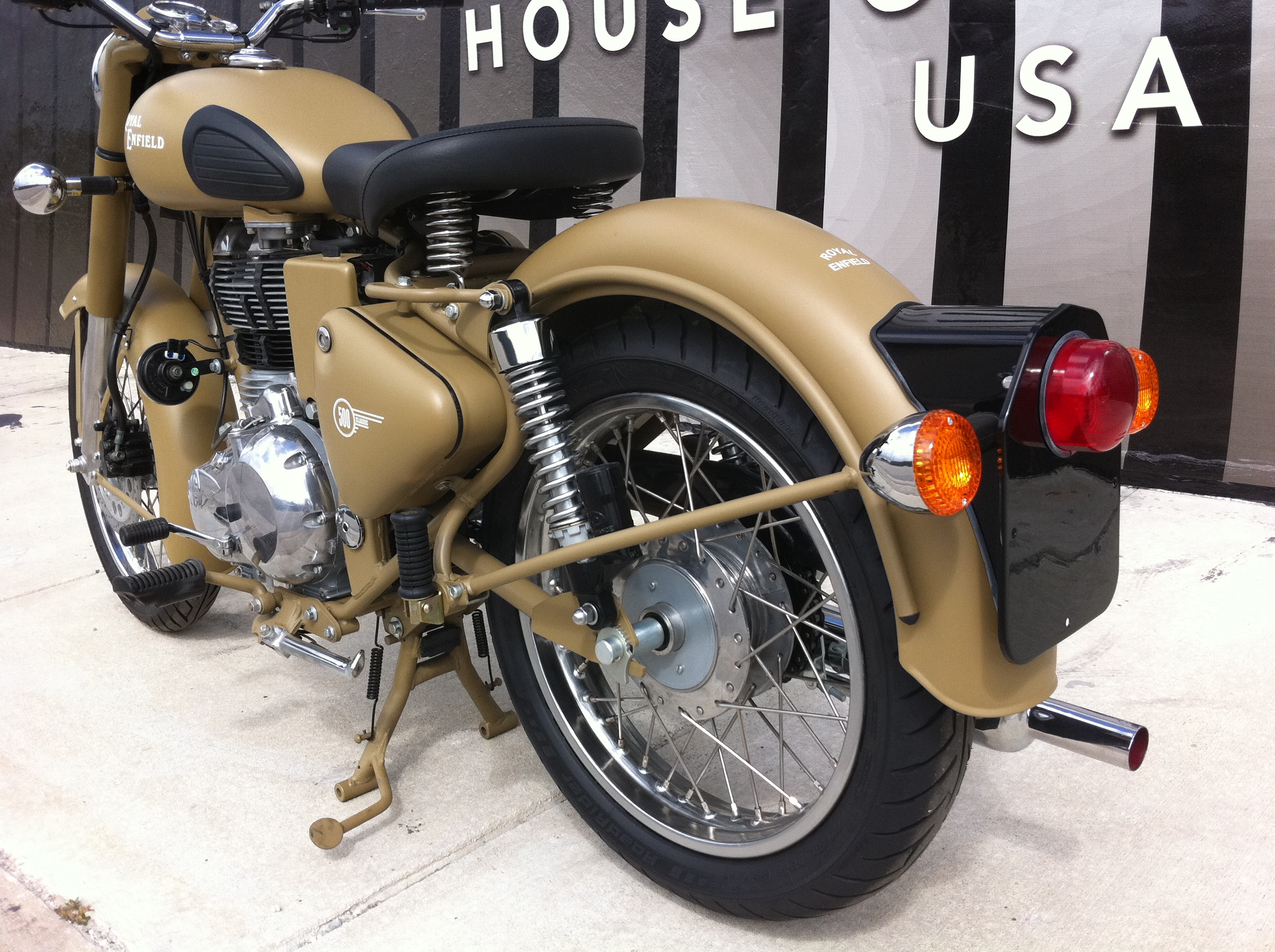 Royal Enfield C5 Military Desert Storm House Of Thunder